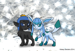 South Park: Craig and Glaceon by KelseyEdward