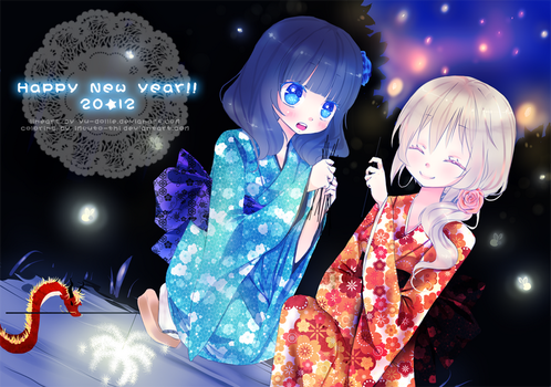 Happy New Year x3 by Imouto-Thi