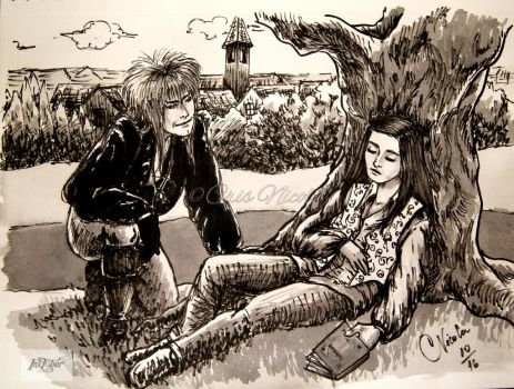 Inktober day 15: RELAX by Cris-Nicola