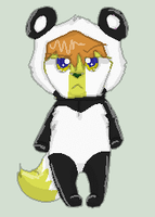 Panda Dhari by KittenthePsycho