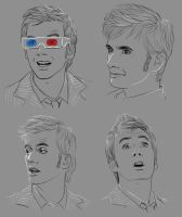 9003 Doctor Who faces 3 by harbek