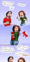 One armed hug by Bobert-Rob