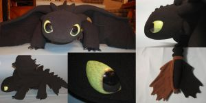 Toothless Plush Number 2 by Super3dcow