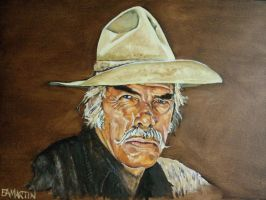 Lee Marvin as Monte Walsh by Edwrd984