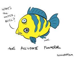 More Accurate Flounder by neotonic