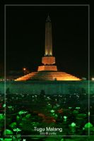 Tugu Malang by indonesia