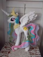 MLP Princess Celestia Commission by CINNAMON-STITCH