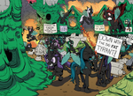 The Times, They Are A Changeling! by Pony-Berserker