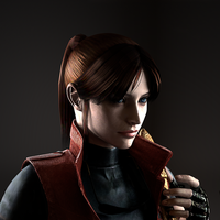 Claire Redfield render by ceriselightning