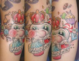Sweet Tooth Tattoo by slipslopslap