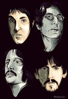 Beatles by pinoyakoearlsonvios