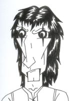 Alice Cooper Caricature: Angry by alice-cooper-rocks