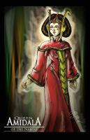 Queen Amidala of the Naboo by LagunaPavon