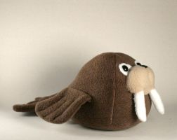 Walter the Walrus Plushie by Saint-Angel