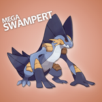 Mega Swampert [FAKE] by zerudez