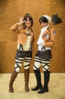 Shingeki no Kyojin cosplay by Lehanan