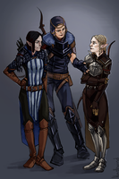 The Hero. The Champion. The Inquisitor. by HeathWind
