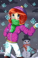 Bundle Up by KawaiiAngel23