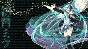 Miku Wallpaper by Eru-88