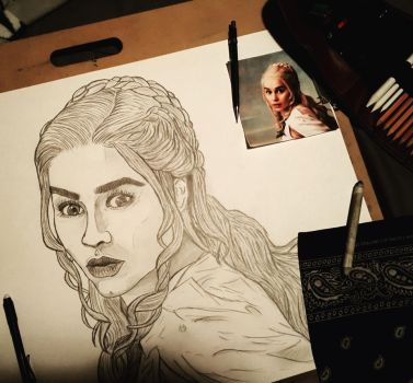 Daenerys 2 by RoughRaven