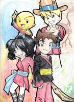 ::Xiaolin Showdown at da PI:: by SUSHIGURL