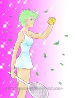 Tennis Tournament: Miriam by The-Replicant