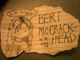 Bert McCracken by Crazy-Mutt