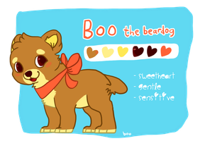 boo's reference sheet version 2. by sir-boo