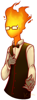 Grillby's Smooth by KitaSpecies