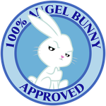 Angel Bunny Seal Of Approval by masemj