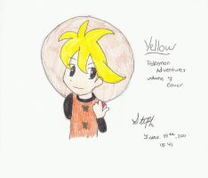 Yellow Caballero 2 - Colored by RangerSteph21