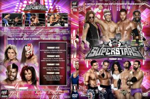 WWE Superstars February 2013  DVD Cover by Chirantha