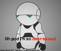 Marvin the Depressed Android by DoodiemMedia