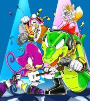 Team Chaotix XD by manaita