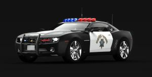 Chevrolet Camaro Police Car by TheImNobody