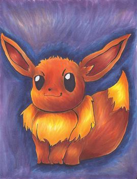 A Wild Eevee Appeared! by ThatRussainKid