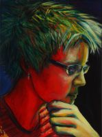 Color Theory Self Portrait by aubrey9001