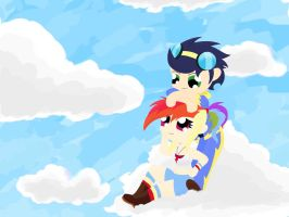 Mlp: Standing on clouds by Dashie112
