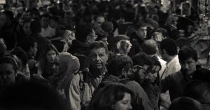 Face in the crowd 1 by TanBekdemir