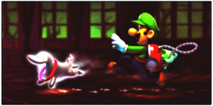Luigi's Mansion - Dark Moon by xSuperPunkMariox