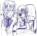 Random Black Butler sketch by bubblestx