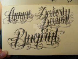 Moleskine Lettering by 12KathyLees12