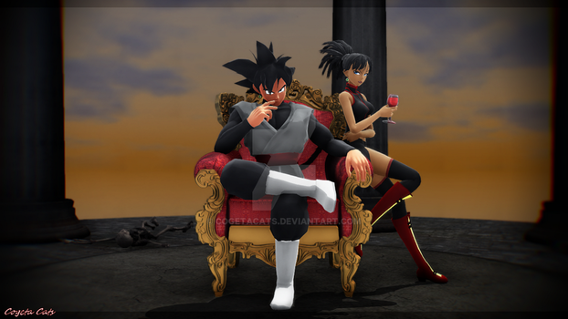 MMD - Calm before Storm by CogetaCats