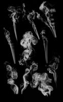 10 photoshop smoke brushes #2 by acerbusmilitis