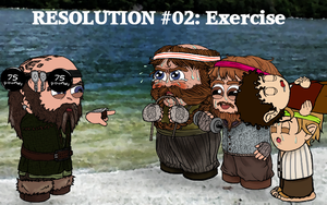 Resolution #02: Exercise by Kumama