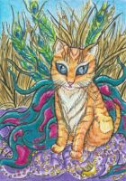 Princess ACEO (Large scan) by Keyshe54