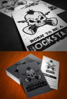 Rockstar Business Card by KaixerGroup