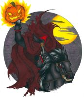 Headless Horseman by OmegaDevin