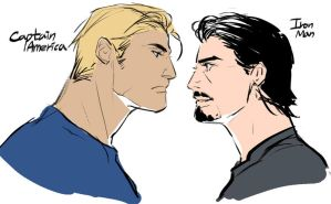 Steve and Tony by jsnart-dv