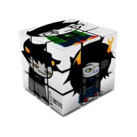 Homestuck Themed Rubix Cube by Loneshadowlynx